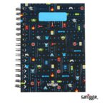 Authentic Smiggle A6 Lined Spiral Notebook 160 pages