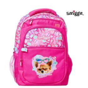 Authentic Smiggle Deja Vu Pussy Cat Standard Size Kids Backpack