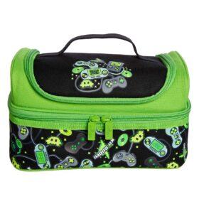 Authentic Smiggle Deja Vu Double Decker Lunch Bag Double Decker