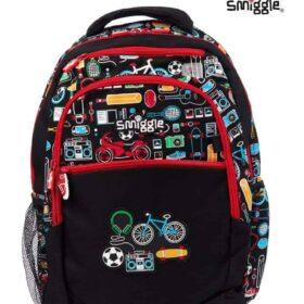 Authentic Smiggle Deja Vu Bicycle Standard Size Kids Backpack