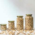 Pistachios in Jars