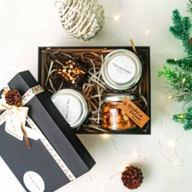 Nutty Christmas hamper - small