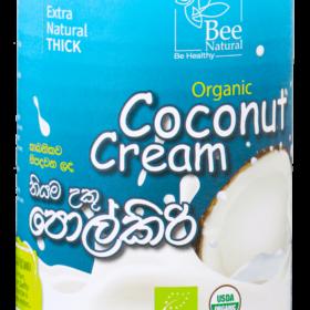 Bee Natural Organic Coconut Cream (400ml)