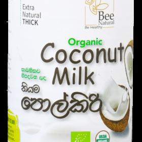 Bee Natural Organic Coconut Milk (400ml)
